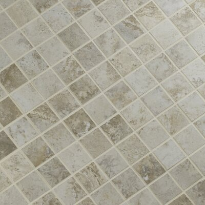Navona 2 x 2 Porcelain Mosaic Tile in Gray