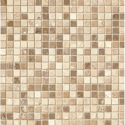 Honed Micro Mosaic Travertine 12 x 12 Natural Stone Mosaic Tile
