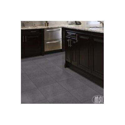 24 x 24 Porcelain Field Tile in Gray (Set of 3)