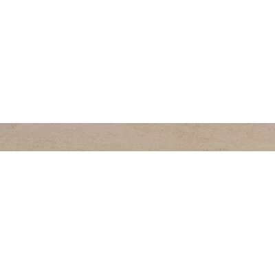Livingstyle Bull Nose 2 x 24 Porcelain Field Tile in Beige