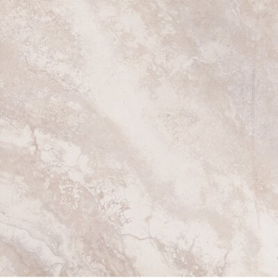 Paver Argento Travertino 24 x 24 Porcelain Tile in Gray (Set of 3)