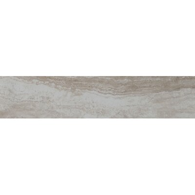 Bernini Camo 4 x 18 Porcelain Tile in Gray