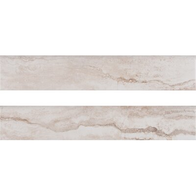 Bernini Bianco 3 x 18 Porcelain Field Tile in White