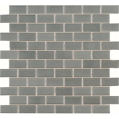 Donna Bevel 2 x 4 Ceramic Mosaic Tile in Green