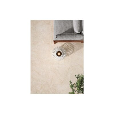 Livingstyle 18x 36 Porcelain Tile in Cream (Set of 3)