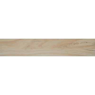 Aspenwood 9 x 48 Porcelain Wood Tile in Arctic