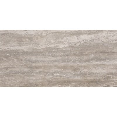 Pietra Venata 16 x 32 Porcelain Filed Tile in Gray