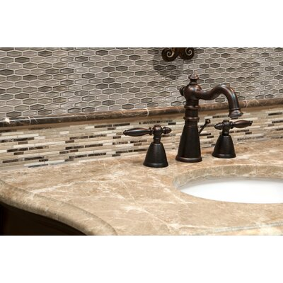 Champagne Estate Glass Mosaic Tile In Brown