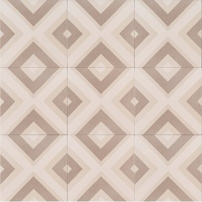 Kenzzi Metrica 8 x 8 Porcelain in Gray