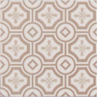 Kenzzi Leira 5.2 x 5.2 Ceramic in Beige