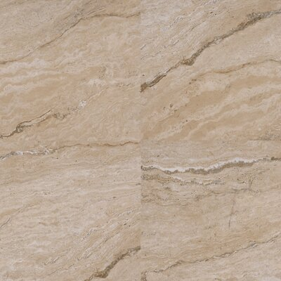 Vezio 20 x 20 Porcelain Field Tile in Beige