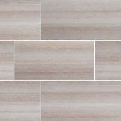 Turin Bianco 12 x 24 Wood Field in White