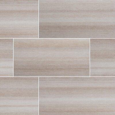 Turin Bianco 12 x 24 Wood Field in White