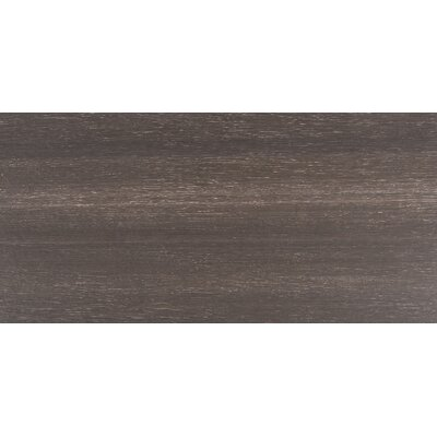 Turin Nero 12 x 24 Wood Wood Look/Field Tile in Black