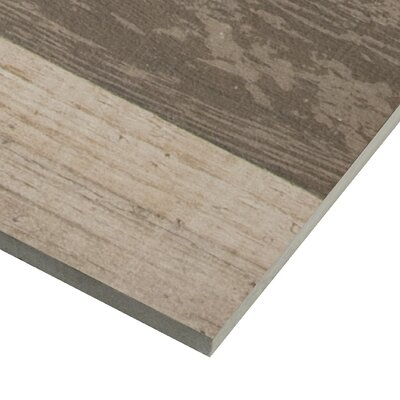 Sierra 9 x 48 Porcelain Wood Look/Field Tile in Brown