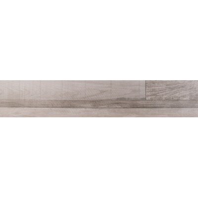 Sierra 9 x 48 Porcelain Wood Look/Field Tile in Gray