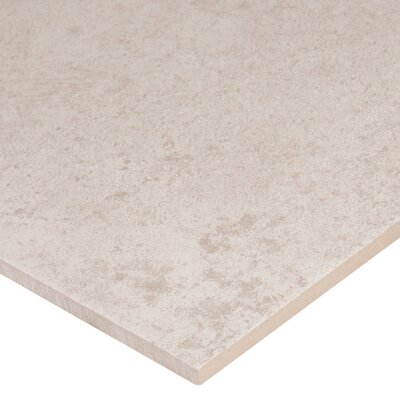 Capella 24 x 24 Porcelain Field Tile in White (Set of 3)