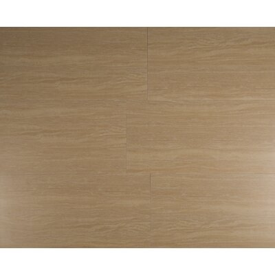 Travertino 12 x 24 Porcelain Wood Look/Field Tile in Beige