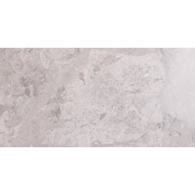 Tundra 12 x 24 Marble Field Tile in Gray
