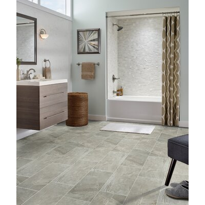 Vision 12 x 24 Ceramic Subway Tile in Glacier