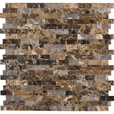 Emperador Marble Mosaic Tile in Brown