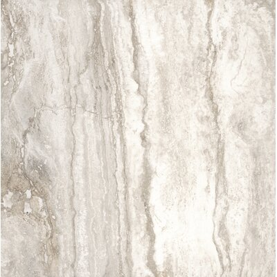 Bernini Bianco 18 x 18 Porcelain Field Tile in Cream/Warm gray