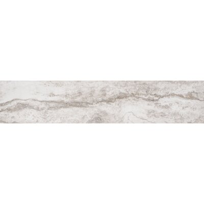Bernini Bianco 4 x 18 Porcelain Field Tile in Cream/Warm gray