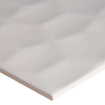 Adella Viso 12 x 24 Ceramic Field Tile in White