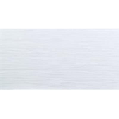 Dymo Stripe 12 x 24 Ceramic Field Tile in White