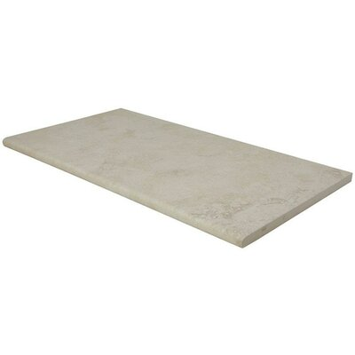 Tierra Pool Coping 13 x 24 Porcelain Field Tile in Beige