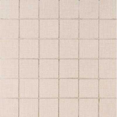 Loft 2 x 2 Porcelain Mosaic Tile in Beige
