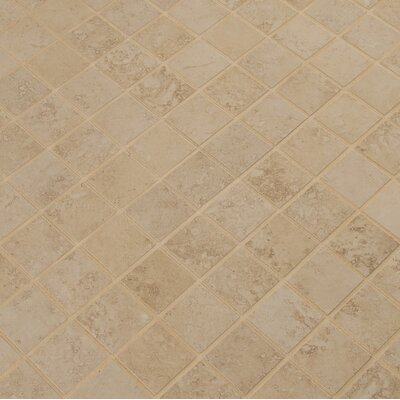 Venice 2 x 2 Porcelain Mosaic Tile in Cappuccino