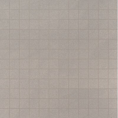 Optima 2 x 2 Porcelain Mosaic Tile in Gray