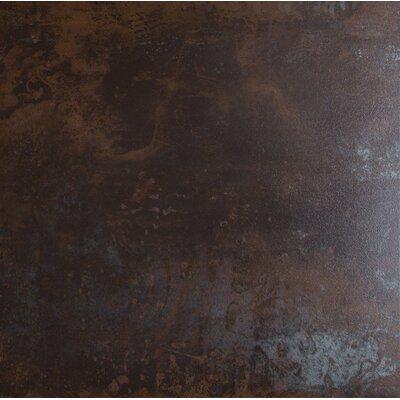 Nickel Antares 20 x 20 Porcelain Metal Tile in Brown