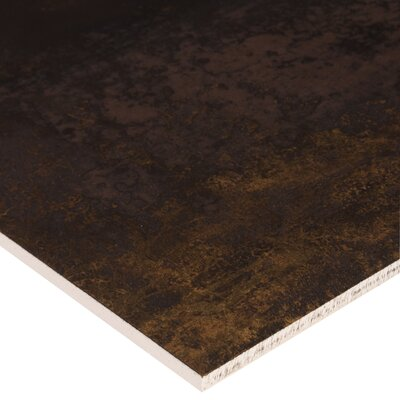 Nickel Antares 16 x 24 Porcelain Tile in Brown