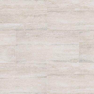 Veneto 12 x 24 Porcelain Field Tile in White