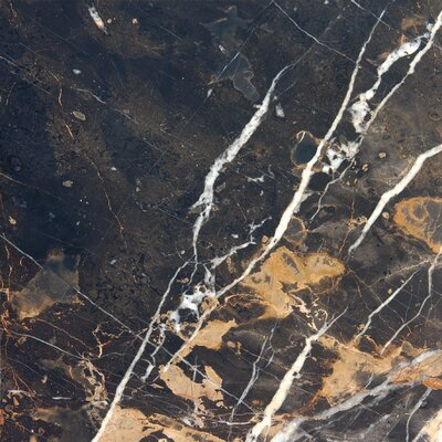 "12"" x 12"" Polished Marble Tile"