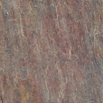 16 x 16 Natural Stone Field Tile in Textured Copper