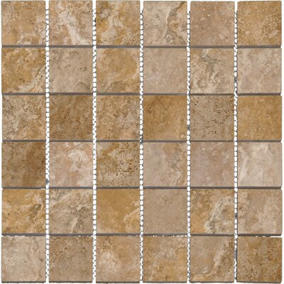 Venice 2 x 2 Porcelain Mosaic Tile in Cappuccino