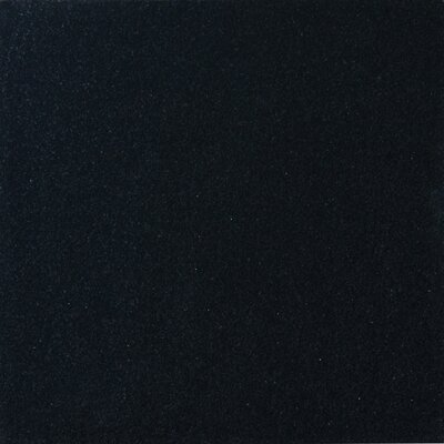 Premium 12 x 12 Granite Field Tile in Black
