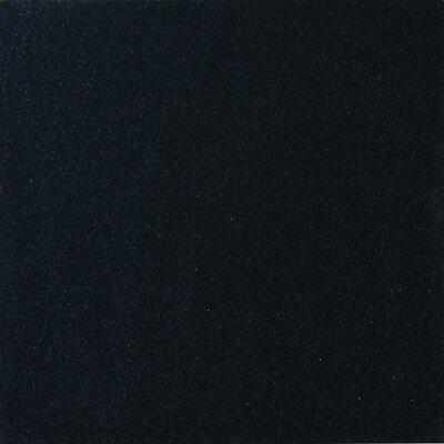 Premium 12 x 12 Granite Field Tile in Black