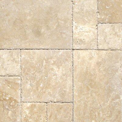 Tuscany Beige Travertine Field Tile in Honed Beige
