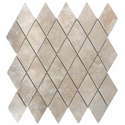 Durango 2 x 2 Travertine Mosaic Tile in Unpolished Durango