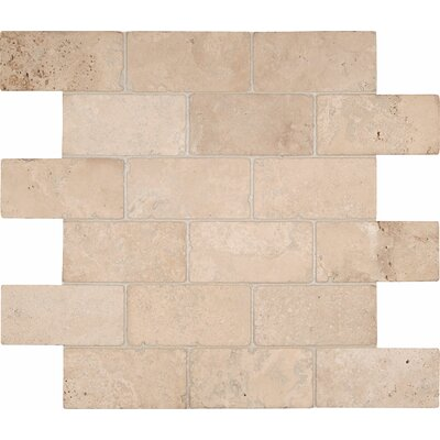 Durango 2 x 4 Travertine Mosaic Tile
