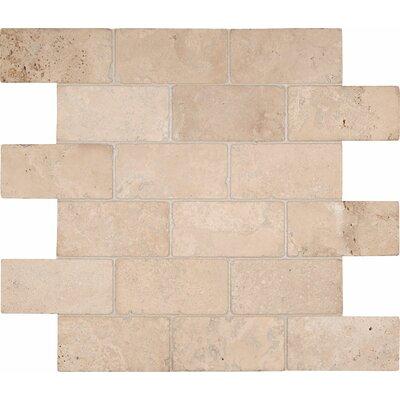 Durango 2 x 4 Travertine Mosaic Tile