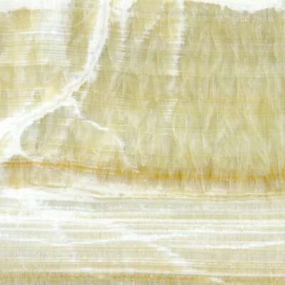 Giallo Crystal 12 x 12 Onyx Field Tile in Polished Gold