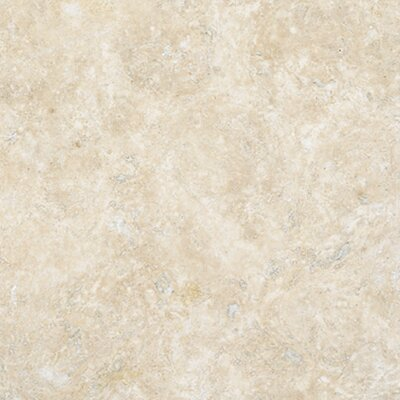 Durango 18 x 18 Travertine Field Tile in Honed Cream