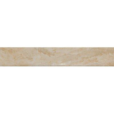 18 x 3 Bullnose Tile Trim in High Gloss