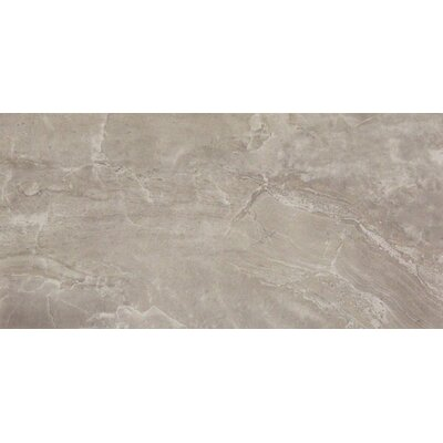 Pietra Pearl 12 x 24 Porcelain Field Tile in Gray