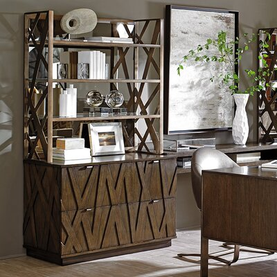 Cross Effect 45 H x 44 W Desk Hutch